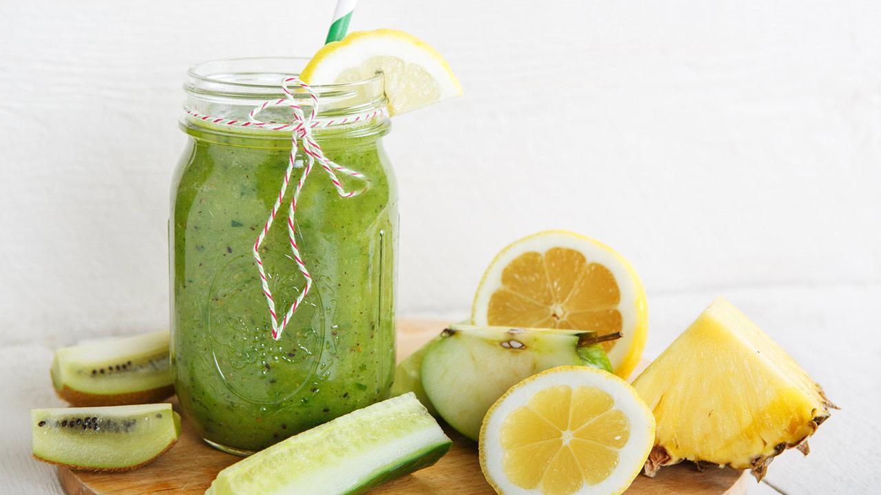 Vitamin Bombe - Smoothies / ein grüner Smoothie