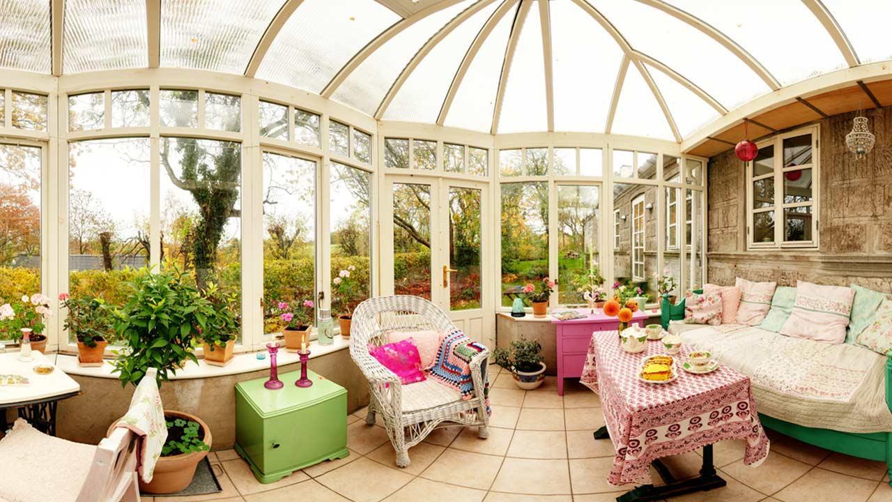 Was brauche ich zur Wintergarten Party  - ein dekorierter Wintergarten