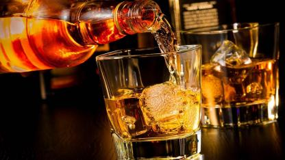 Whisky on the Rocks oder ohne Eis