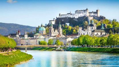 Frühlingssapziergang durch Salzburg Stadt